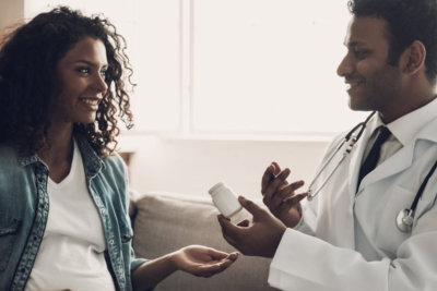 male doctor consulting his patient